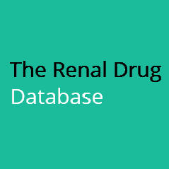 Renal Drug Database logo